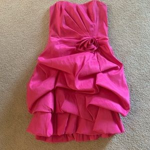 Hot pink formal dress from Windsor store